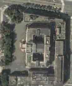 satellite photo of Taiwan's Executive Yuan (Cabinet building)